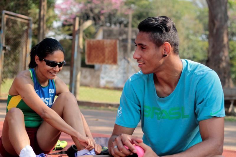 Foto:Sérgio Borges / Nofoco - Desempenho de ambos, Jerusa e Gabriel, reforça bom preparo para o Parapan-Americano