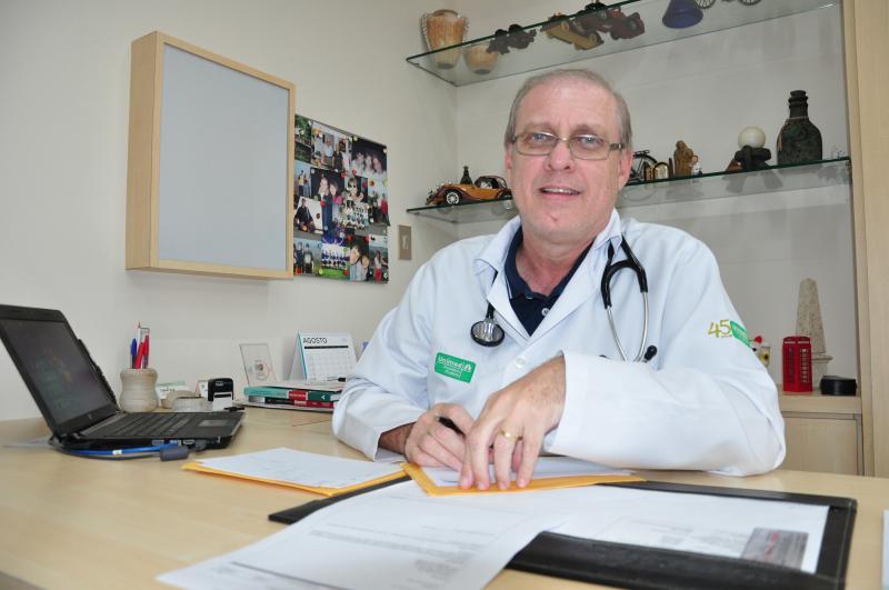 José Reis - Antônio Bongiovani atua na profissão há 29 anos e relata amor pelo que faz