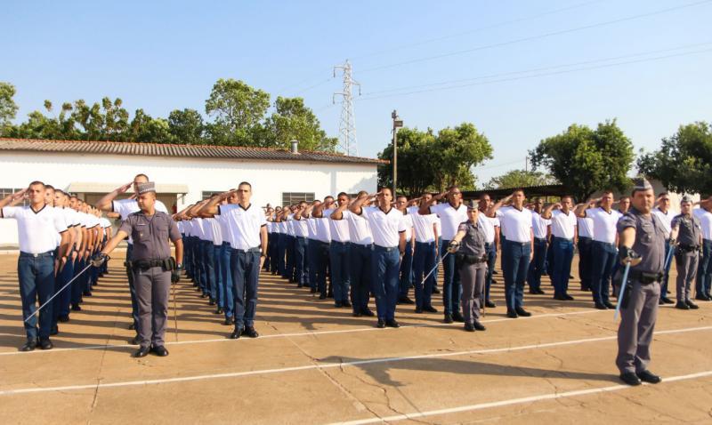André Kawada/Cedida - Evento ocorreu hoje na Escola Superior de Soldados de Junqueirópolis