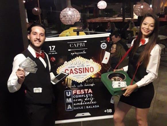 Uma Noite no Cassino será um evento que vai fazer história para todas as gerações do clube
