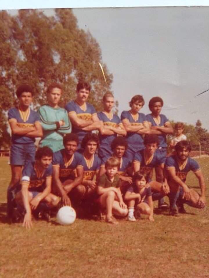 Fotos: Cedidas / Ataíde Nascimento - Time do Unidos FC do Jardim Brasília na década de 70