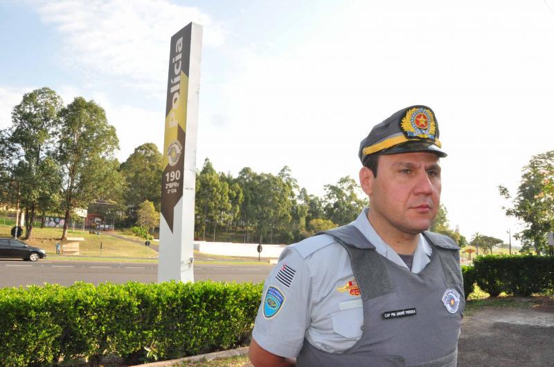 José Reis - Capitão André diz que incidência maior está em trecho urbano