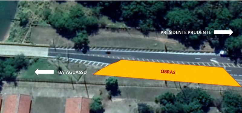 Cart - Trânsito fluirá somente em uma das faixas, que estará devidamente sinalizada