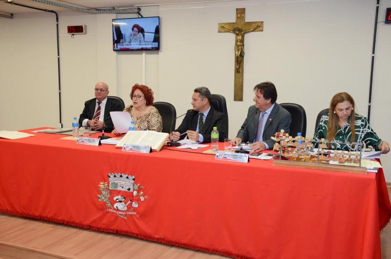 AI Câmara Municipal de Presidente Prudente  - Vereadores rejeitaram vetos de Bugalho na sessão de segunda-feira