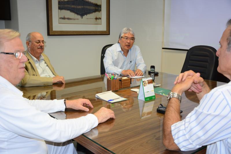 Marcos Sanches/Secom - Encontro iniciou tratativas para concretizar o projeto