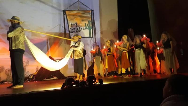 Cedida/Balé Folclórico Raiz - Grupo conta com 20 artistas locais, desde crianças a idosos