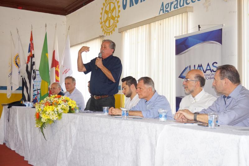 Sinomar Calmona - Prefeito de Regente Feijó, Marcos Rocha, presidiu a reunião da UMAS (União dos Municípios da Alta Sorocabana)