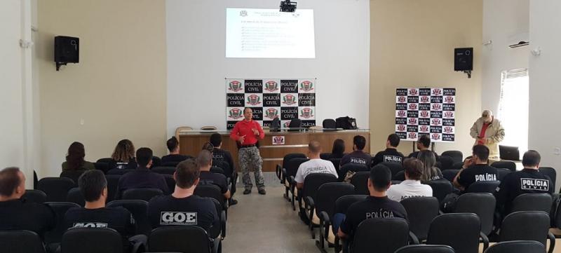 Polícia Civil - Curso começou na quinta-feira e segue até hoje, em Dracena