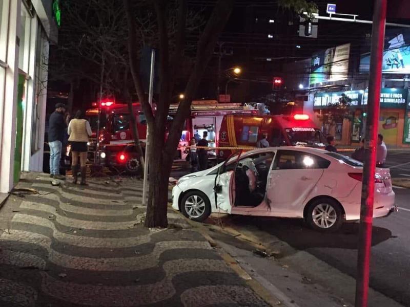 Cedida - Três pessoas foram socorridas com ferimentos de natureza leve