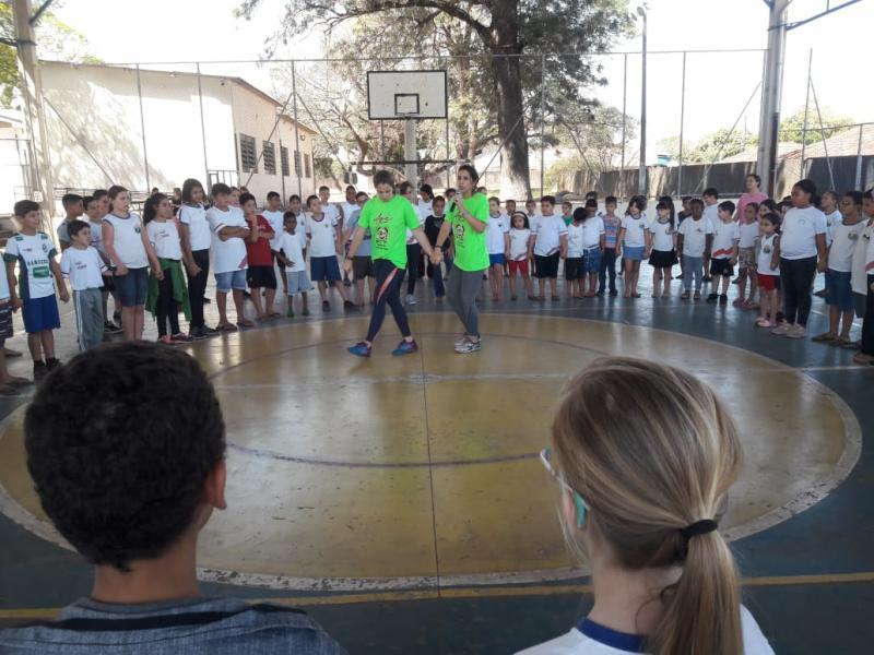 Cedida - Atividade reuniu 150 crianças, entre 6 e 10 anos