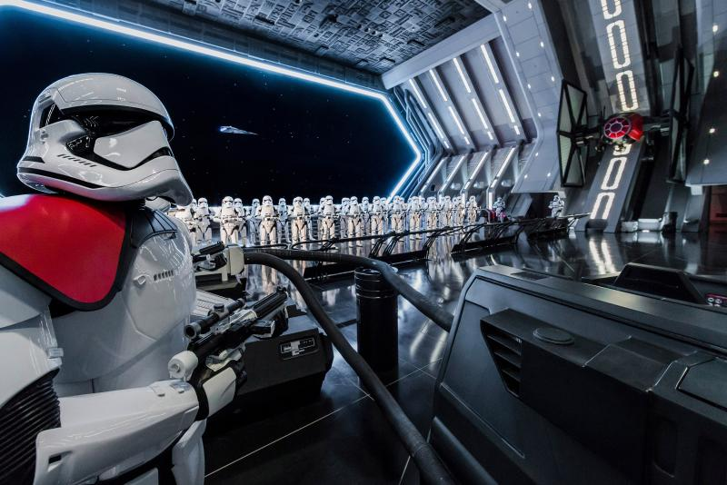 Star Wars: Rise of the Resistance é considerada uma das experiências mais ambiciosas, avançadas e imersivas já realizadas pelo time Walt Disney Imagineering