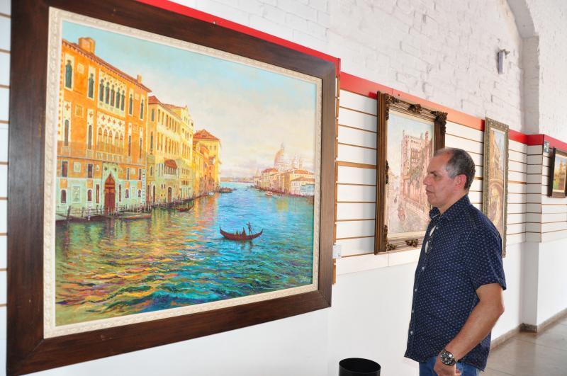 José Reis - Cido tem referências de pintores impressionistas e pós-impressionistas do século XIX e XX