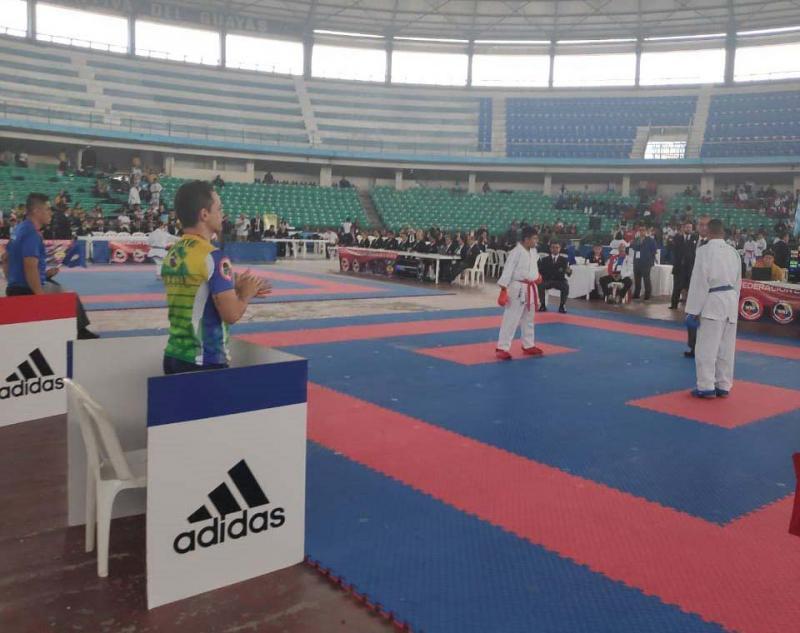Cedida/Xandão - Guilherme fez bonito em Guayaquil e aguarda resultado do ranking para o Mundial