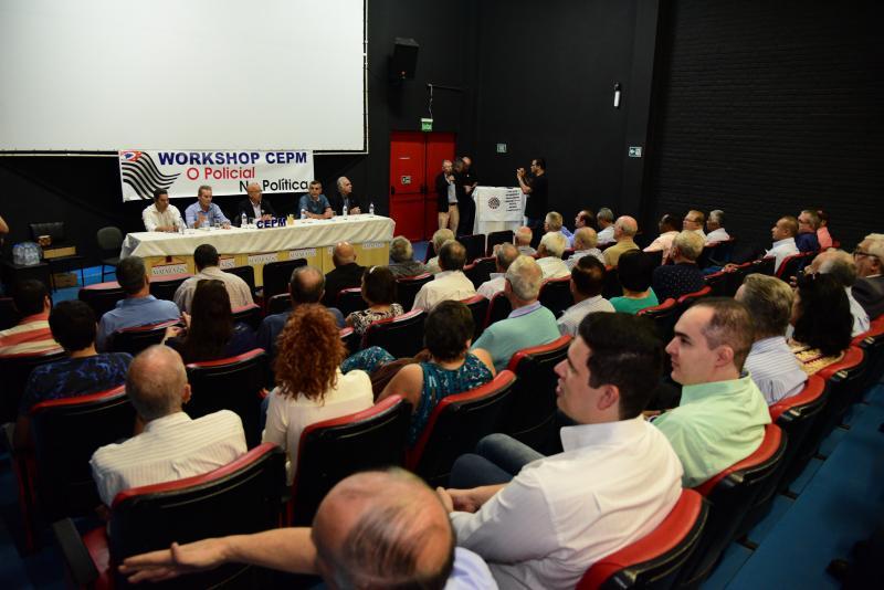 Paulo Miguel - Encontro ocorreu no Centro Cultural Matarazzo e reuniu aproximadamente 200 pessoas