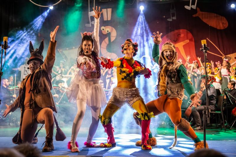 Divulgação - Parte teatral é feita por alunos de artes circenses e artistas do Instituto Circênico de Jaú