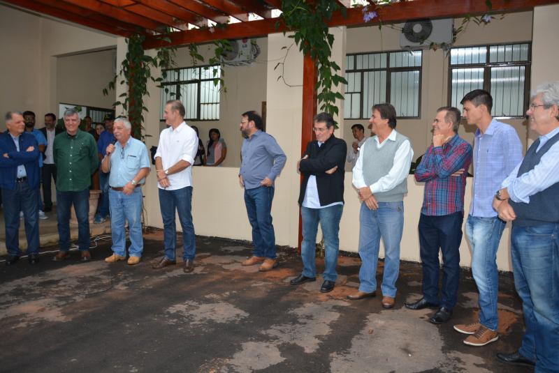Marcos Sanches/Secom - Cerimônia de posse do novo corpo diretivo da Prudenco ocorreu ontem