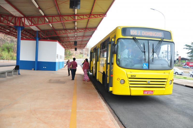 José Reis - Terminal voltou a atender o embarque e desembarque na zona norte do município