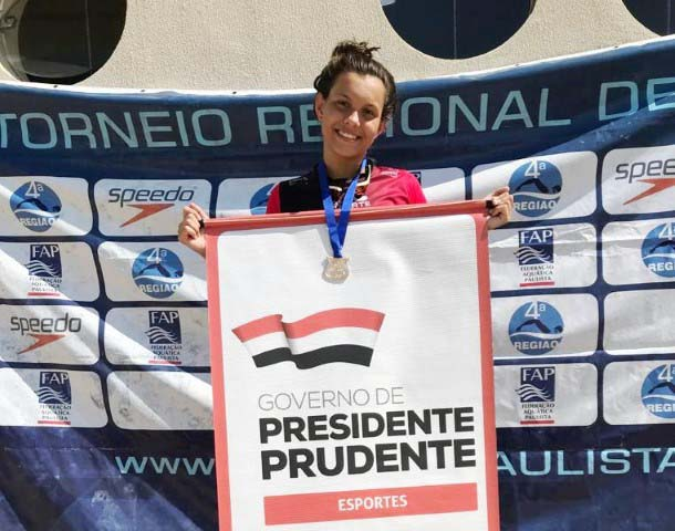 Cedida / Semepp - Isadora Mello foi uma das atletas que conquistou 3 ouros