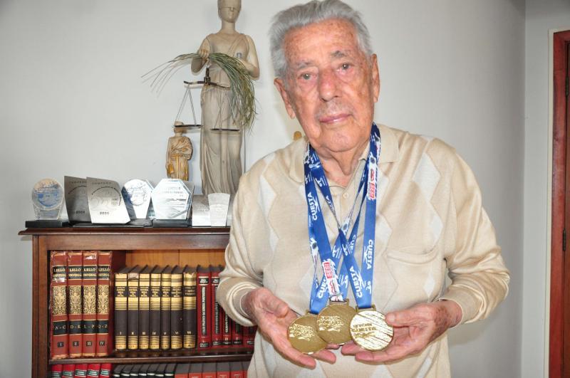 José Reis - Senhor Euro tem 92 anos e, no dia 24, conquistou de braçada os 4 primeiros lugares em Bauru (SP: