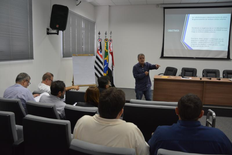 Marcos Sanches/Secom - Reunião discutiu tecnologia a ser implementada para a operacionalização do consórcio