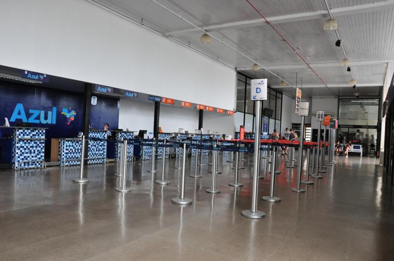Arquivo - Aeroporto Estadual Adhemar de Barros, em Presidente Prudente, é o terceiro em movimentação do interior paulista