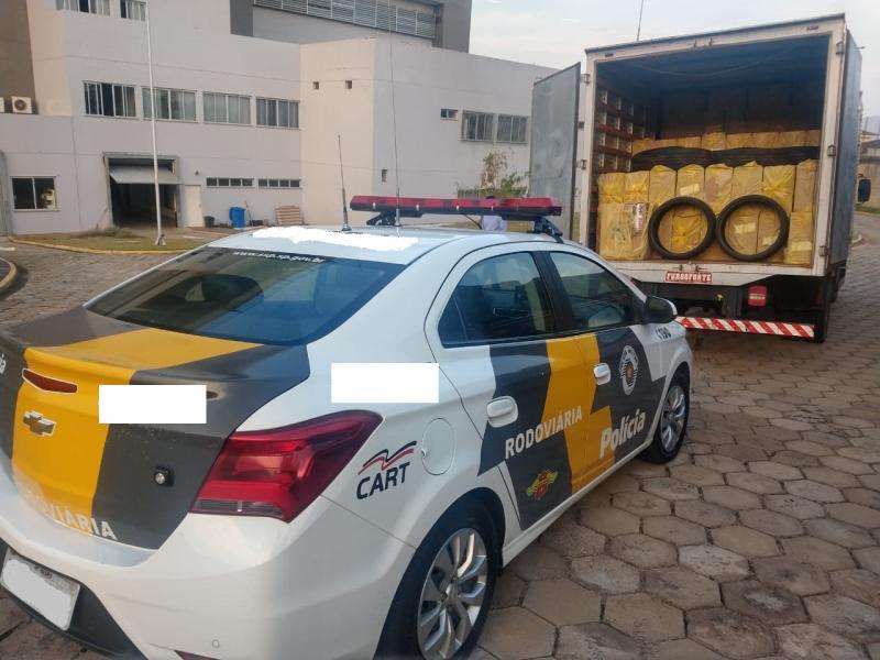 Polícia Militar Rodoviária - Motorista fugiu da abordagem policial