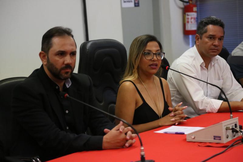 Marco Vinicius Ropelli:Iara e Emerson abriram, com discursos, a apresentação dos novos conselheiros