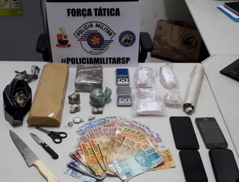 Polícia Militar - Material foi apreendido pela Polícia Civil