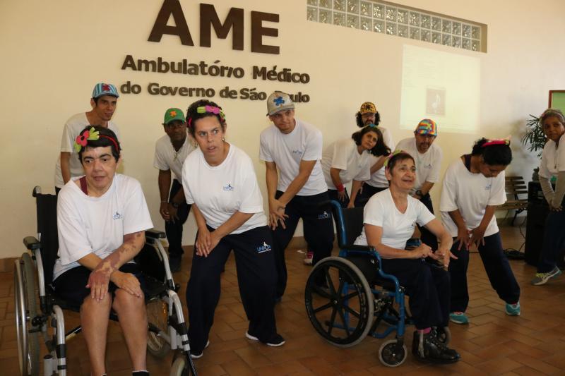 AI do HRCPP/Cedida - Alunos da Unipode participaram de apresentações de dança na abertura do Setembro Verde