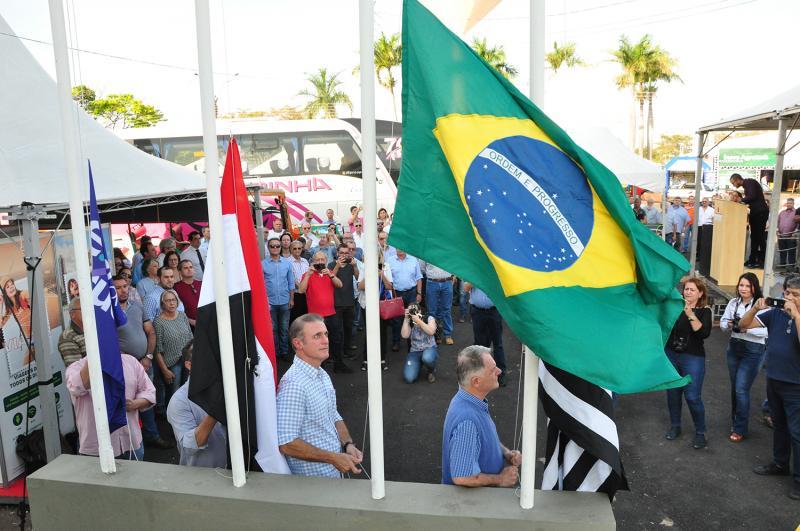 José Reis: Organização e autoridades estiveram presentes na abertura oficial do evento