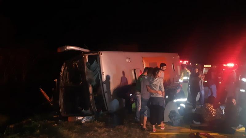 Wagner Bueno/Portal Bueno - Acidente ocorreu no km 604 da Raposo Tavares