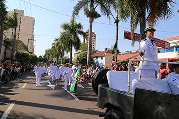 José Reis - Entre os grandes destaques do dia estavam as tropas militares e instituições do município