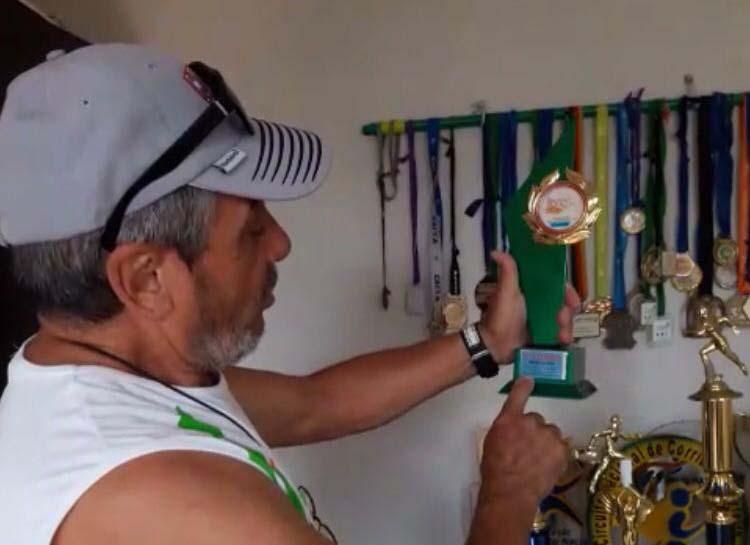 Arquivo Pessoal - Aos 69 anos, José Antonio do Amarante soma 400 medalhas e 119 troféus em competições