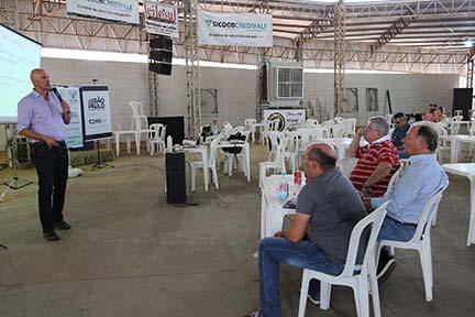 José Reis - Ciclo de palestras conta com a participação de empresas regionais para o auxílio a produtores