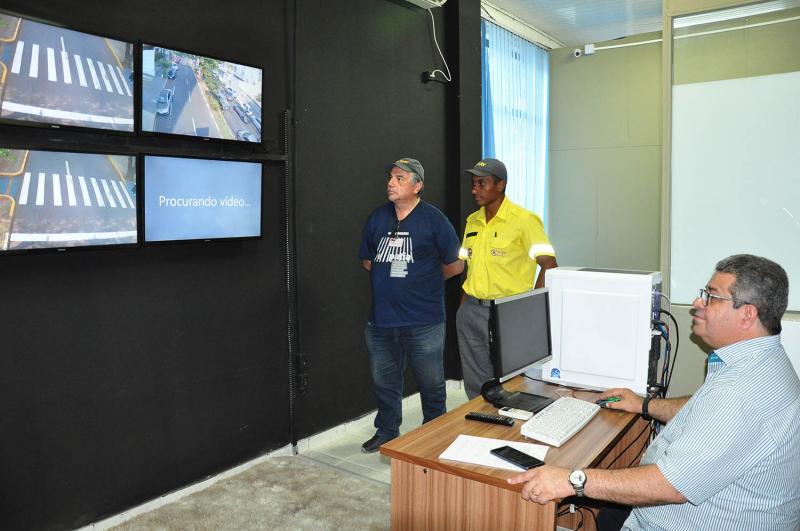 José Reis - Central de monitoramento conta com 7 câmeras em fase de testes na cidade