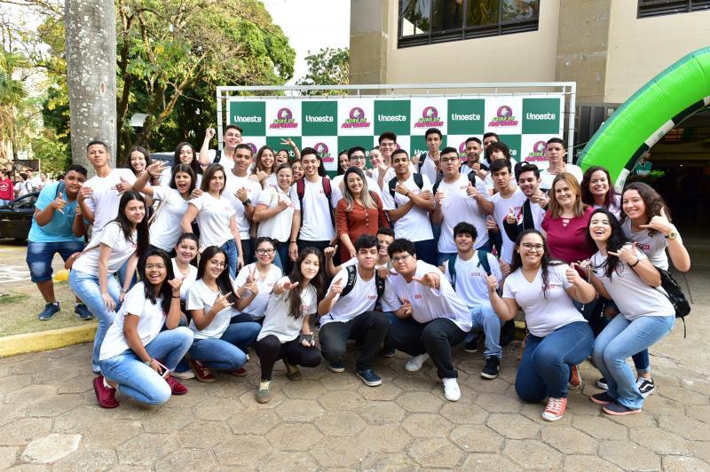 Ector Gervasoni/Cedida - Estudantes de colégios públicos e particulares passaram essa semana pelo campus 2 da Unoeste