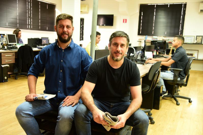Paulo Miguel - Leandro Nigre e Alberto Deodato falam sobre as mudanças do novo formato gráfico de O Imparcial