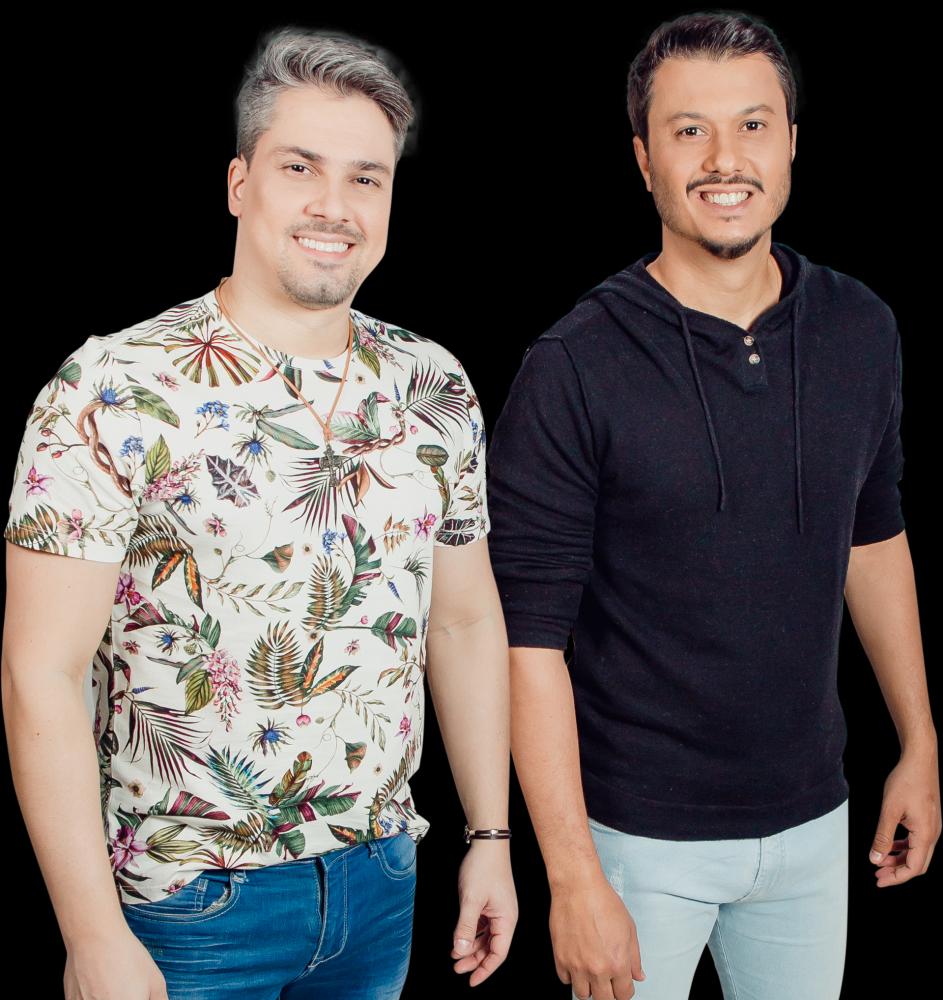 Pratas da casa, a dupla sertaneja João Marcelo & Juliano fecha o show de Maiara & Maraisa no palco principal da Expo Prudente
