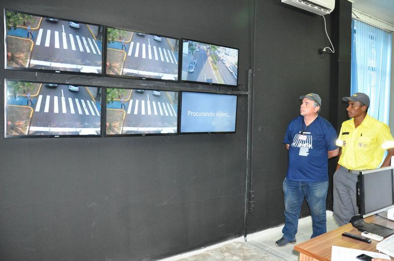 Arquivo - Monitoramento das câmeras espalhadas na cidade será feito pela Semob