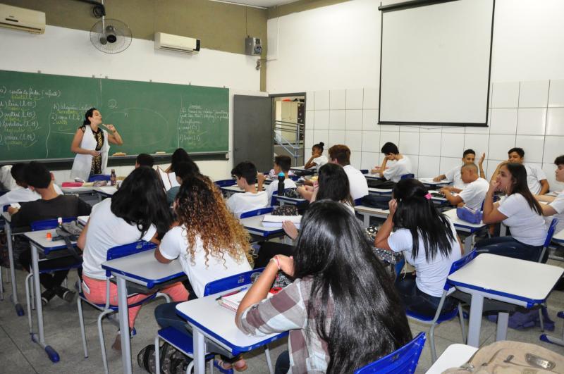 Arquivo - Atualmente, PP conta com 14.636 alunos regularmente matriculados na rede estadual e 19.600 na municipal