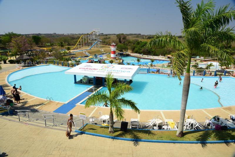 Paulo Miguel:Parque Aquático da Cidade da Criança sofreu reformas estruturais e foi reaberto