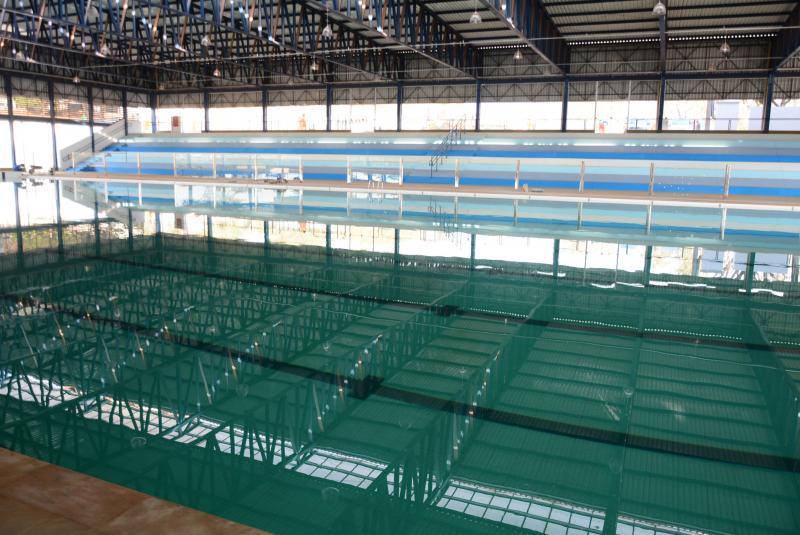 Foto: Arquivo - Festa de reinauguração do complexo aquático para a população começa a partir das 9h, deste domingo