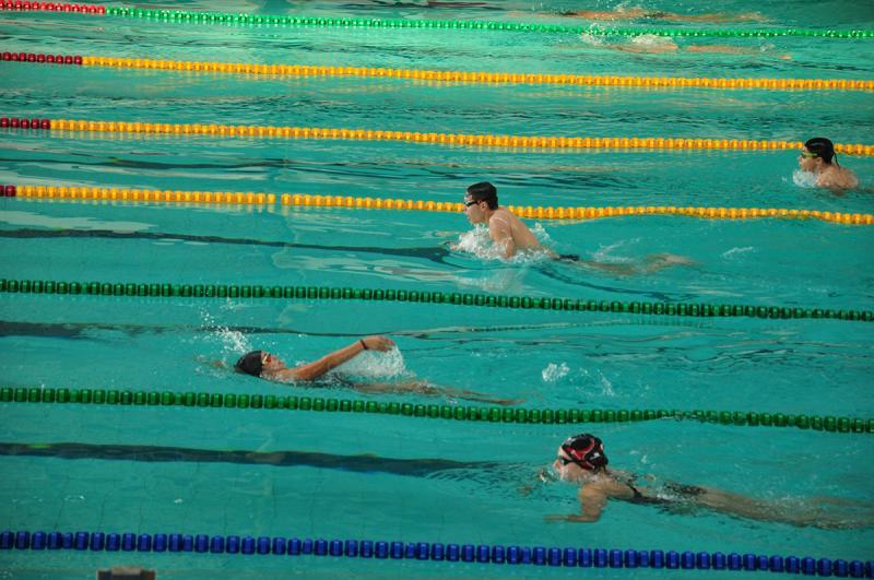 José Reis - Primeiro treino oficial no complexo aquático contou com a presença de 33 atletas ontem