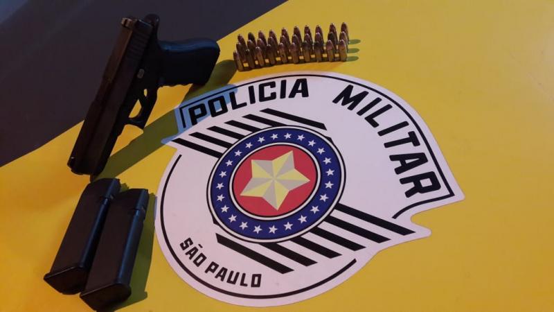 Polícia Militar Rodoviária - Arma estava sendo carregada na cintura do menor, no  momento da abrodagem