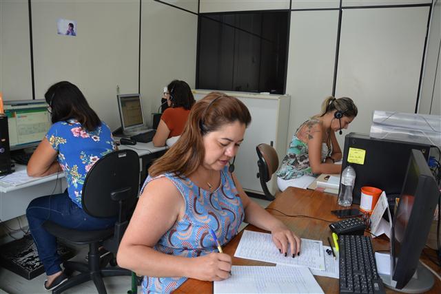 Prefeitura de Prudente - Cada uma das funcionárias deve realizar algo em torno de 20 contatos por dia