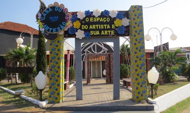 Cedida:Maioria das atividades ocorre em frente à Casa do Artesão