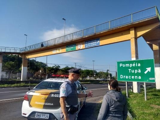 Polícia Rodoviária - Atividades fizeram parte da programação da Semana Nacional do Trânsito