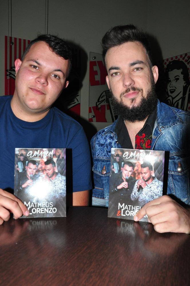 """José Reis:Primeiro trabalho da dupla foi o DVD """"Clima Bom"""", gravado em setembro de 2017"""