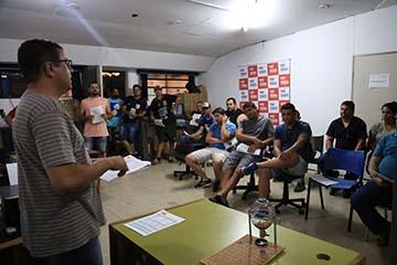 José Reis - Representantes dos 22 times participaram do sorteio, realizado ontem, na sede da Semepp