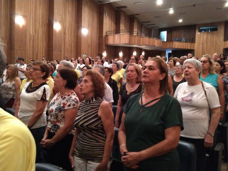 Pedro Silva - Abertura do 23º Fórum do Idoso ocorreu ontem em Prudente